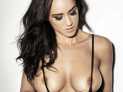 Rosie Jones Topless Outtake With Rhian Sugden