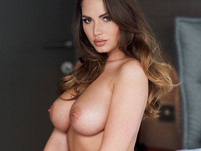 Sabine Jemeljanova Boobs Photoshoot