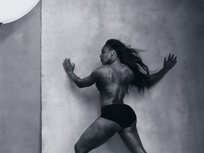 Serena Williams topless and sexy