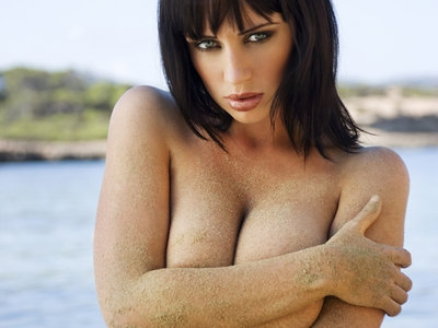 Sophie Howard Topless Beach Photoshoot For Ketchup Ibiza