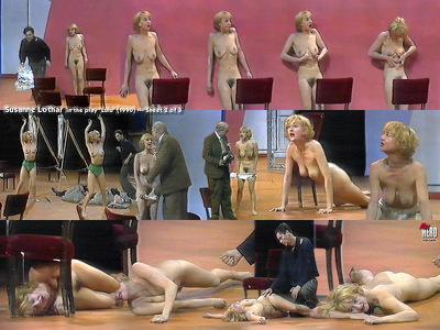 Nackt Susanne Lothar  Unbekleidet in