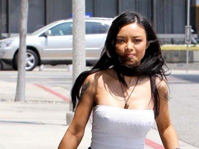 Tila Tequila and her massive nipples!