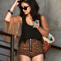 Horny shorts of Vanessa Hudgens