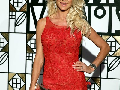 Victoria Silvstedt see-through shots